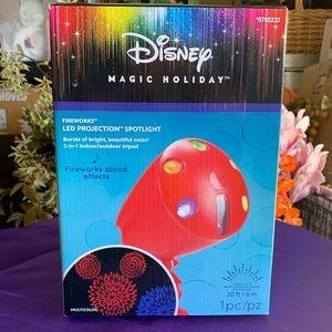 Disney Fireworks LED Projection light with Sound